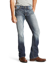 ARIAT MEN'S M5 SLIM DAVIS STACKABLE STRAIGHT LEG JEANS - STYLE #10020787