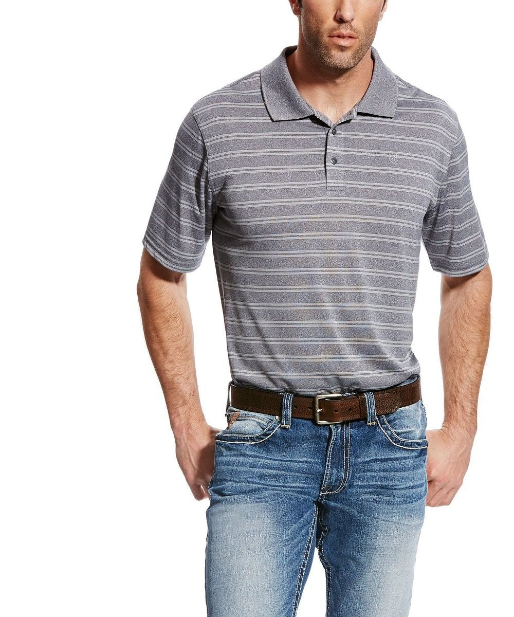 ARIAT MEN'S FADE POLO SHIRT- STYLE #10022010
