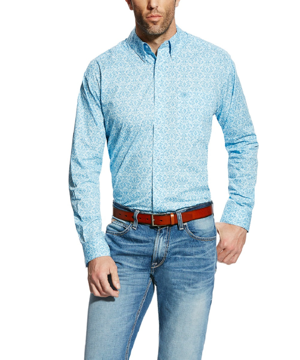 ARIAT MEN'S LONG SLEEVE BUTTON DOWN SHIRT - STYLE #10022123
