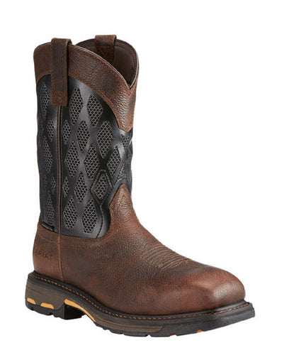 Ariat Men's VentTEK Matrix Composite Toe Workhog Boot- Style #10023061