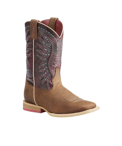 ARIAT KIDS' VAQUERA WESTERN BOOT- STYLE #10023071
