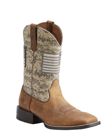 Ariat Men's Sport Patriot Western Boot- Style #10023359