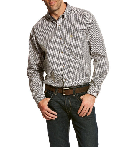 ARIAT MEN'S PRO SERIES BONNEL BUTTON DOWN SHIRT- STYLE #10024193