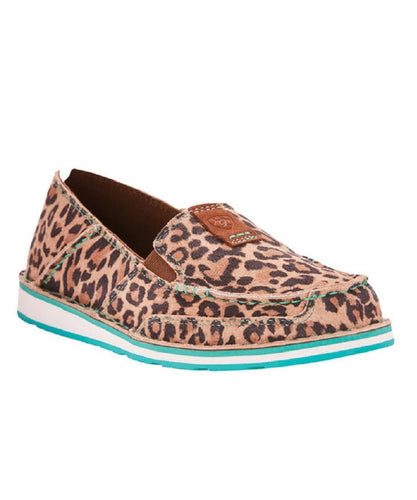 ARIAT WOMEN'S CHEETAH PRINT CRUISER SHOES - STYLE #10024769