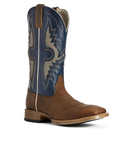 ARIAT MEN'S SOLADO VENTTEK WESTERN BOOT- STYLE #10027202-BROWN