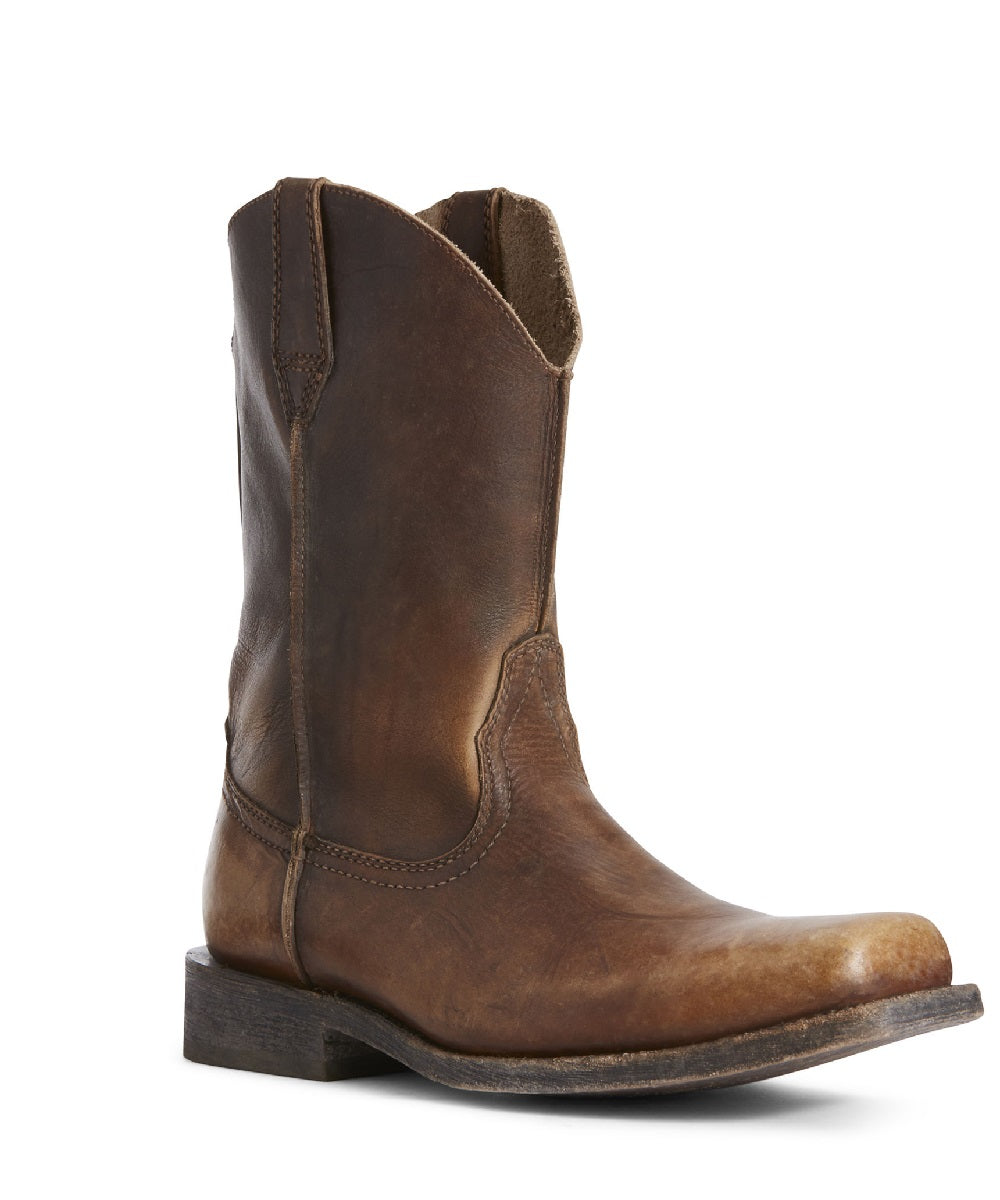 ef2708ab7e0 Ariat Men's Rambler Leather Sole Western Boot- Style #10027227