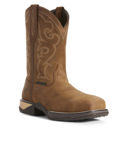 Ariat Women's Anthem Brown Composite Toe Work Boot- Style #10027422-BROWN