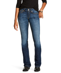 Ariat Women's R.E.A.L. Perfect Rise Stretch Rosa Boot Cut Jean- Style #10027713