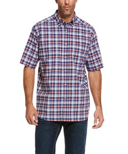 Ariat Men's Pro Series Ronaldson Stretch Classic Fit Button Down Shirt- Style #10028184
