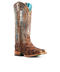 Ariat Women's Vaquera Exotic Western Boot- Style #10029776