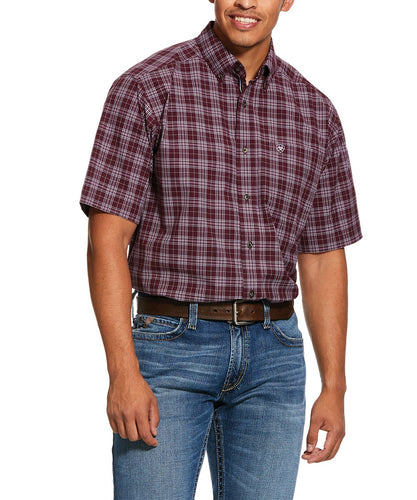 Ariat Men's Pro Series Fallbrook Classic Fit Button Down Shirt- Style #10030676