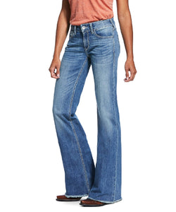 Ariat Women's Perfect Rise Stretch Ella Wide Leg Trouser Jean- Style #10032053