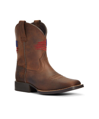 Ariat Youth Patriot II Western Boot- Style #10034408