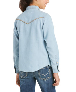Ariat Girls REAL Kind Snap Shirt- Style #10035539