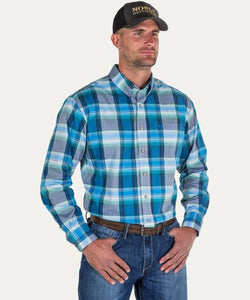 NOBLE OUTFITTERS MEN'S GENERATIONS FIT BUTTON DOWN SHIRT- STYLE #11002-786