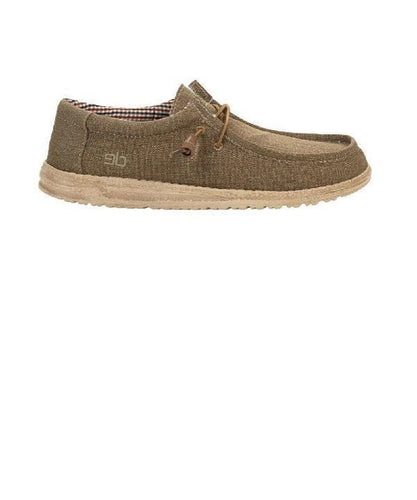 Hey Dude Men's Wally Canvas Shoe- Style #110061600