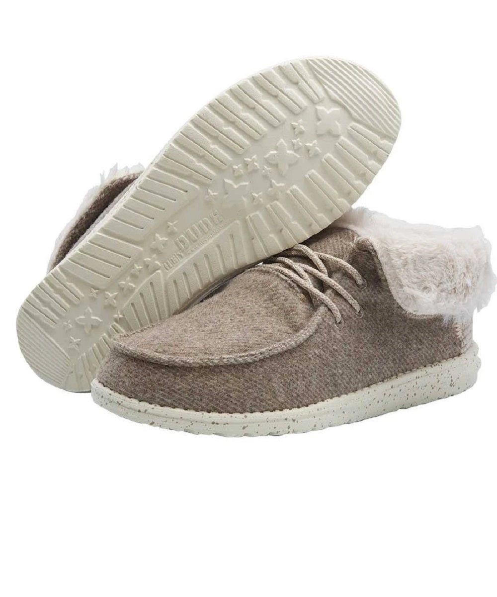 Hey Dude Women's Britt Nut Color Casual Shoe- Style #121771600