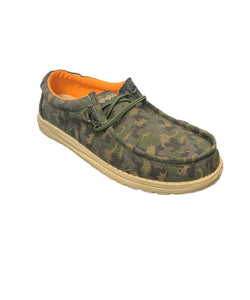 Hey Dude Youth Musk Wally Shoe- Style#130131556