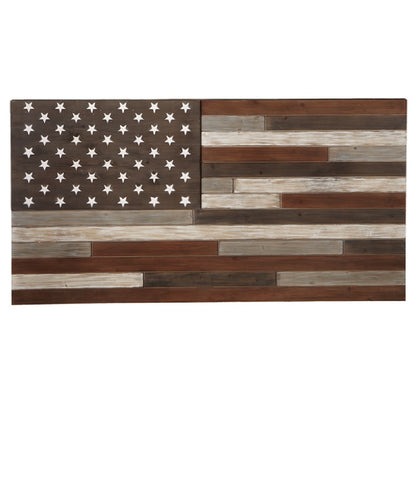 Midwest CBK Slat Wood American Flag Wall Art- Style #130616