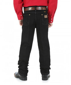 Wrangler Boys' Cowboy Cut Original Fit Black Jean- Style #13MWJBK