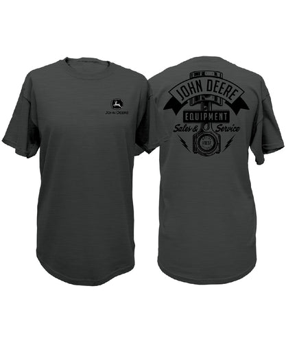 John Deere Men's Sales And Service Tee- Style #14541980