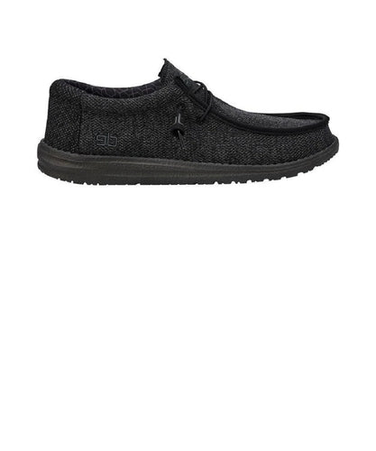 Hey Dude Hombres Wally Sox Micro Total Zapato Negro - Estilo #150204942