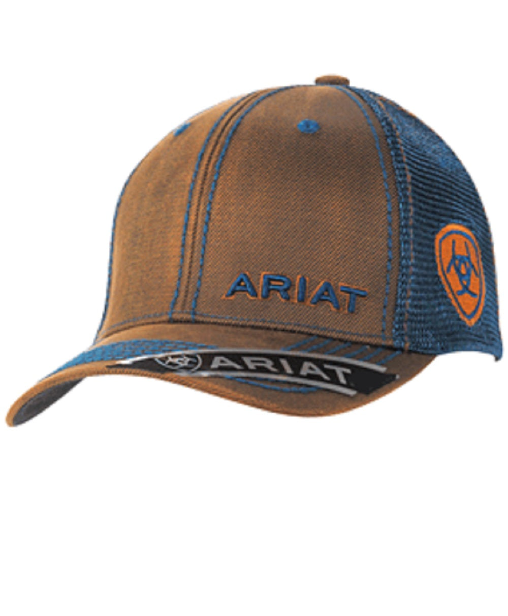 M&F WESTERN ARIAT NAVY BALL CAP - STYLE #1509502