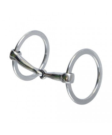 ACTION CO. STAINLESS O-RING SNAFFLE- STYLE #15435