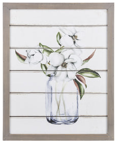 Ganz Magnolia Bouquet Wall Decor- Style #163913