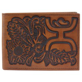 TRENDITIONS MEN'S HOOEY SIGNATURE BIFOLD WALLET- STYLE #1700161W7