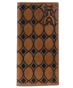 TRENDITIONS MEN'S PUNCHY SIGNATURE RODEO WALLET - STYLE #1704137W2