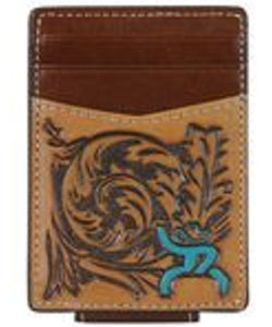 Trenditions Hooey Roughy Tooled Money Clip- Style #1779462MTQ - MULTI