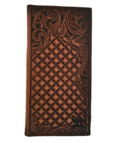 TRENDITIONS MEN'S HOOEY TOOLED RODEO WALLET- STYLE #1829137W3