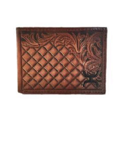 Trenditions Men's Hooey Tooled Bifold Wallet- Style #1829161W3