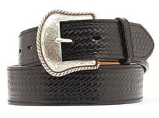 M&F Western Men's Nocona Basic Black Belt- Style #N1010601