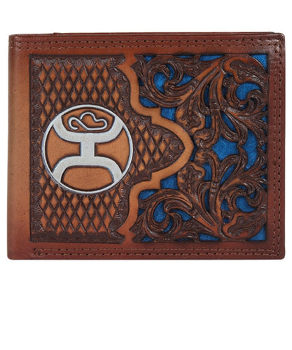 Trenditions Hooey Tooled Bifold Wallet- Style #2041138W8