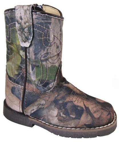 Smoky Mountain Toddler Square Toe Wilderness Camo Boot- Style #2075T