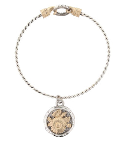 JANE MARIE WOMEN'S LATCH BRACELET WITH CHARM - STYLE #JM6175B