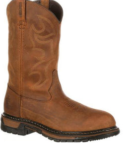 "Rocky Men's 11"" Waterproof Work Boot- Style #2733"