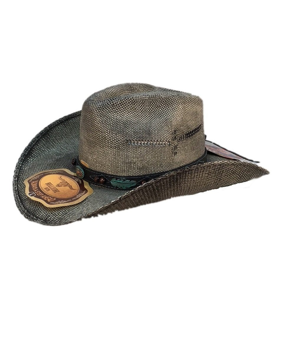 BULLHIDE HATS RAMPAGE STRAW HAT- STYLE #2972