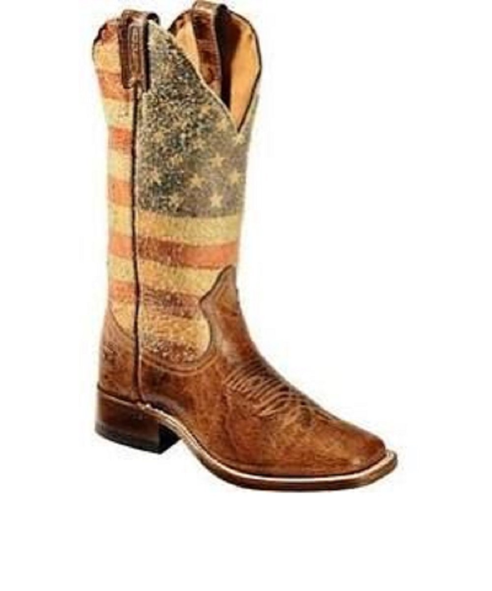 BOULET WOMEN'S DISTRESSED AMERICAN FLAG BOOT- STYLE #3187