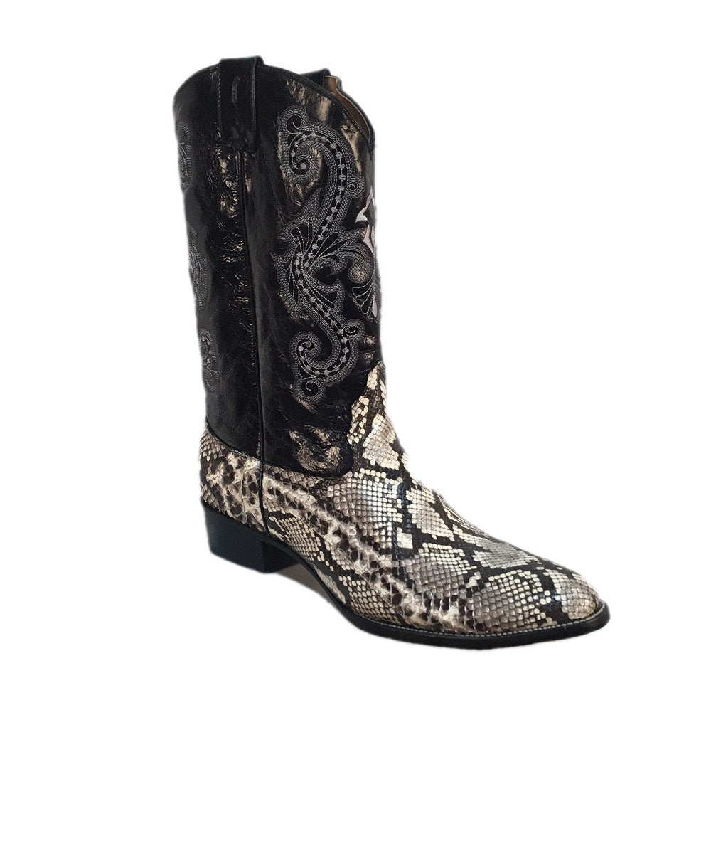 6def2b4ff03 CORRAL MEN'S CIRCLE G NATURAL BELLY CUT PYTHON BOOT- STYLE #L5044 ...