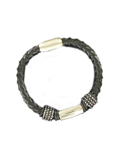 M&F Western Men's Twister Braided Bracelet- Style #32504