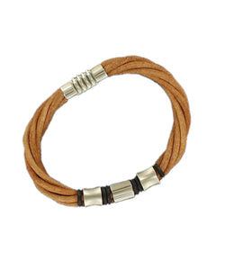 M&F Western Men's Twister Four Strand Bracelet- Style #32512