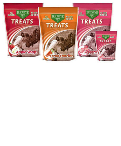 R.J. Mathews Buckeye Nutrition Peppermint Bits Treats- Style - 348-530