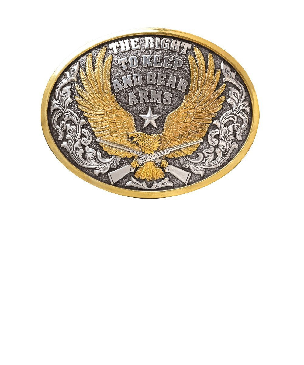 M&F Western Men's Nocona Bear Arms Buckle- Style #37117