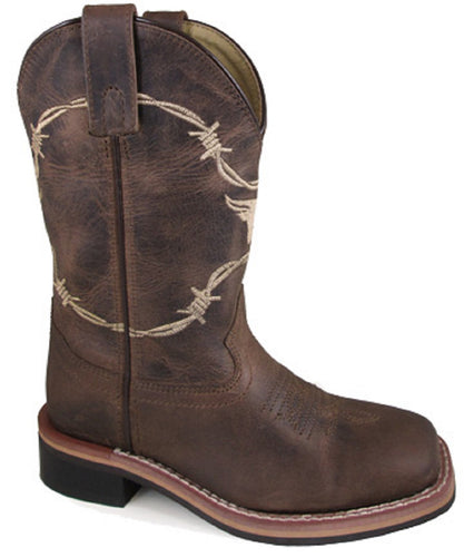 Smoky Mountain Children's Logan Leather Boot- Style #3923C
