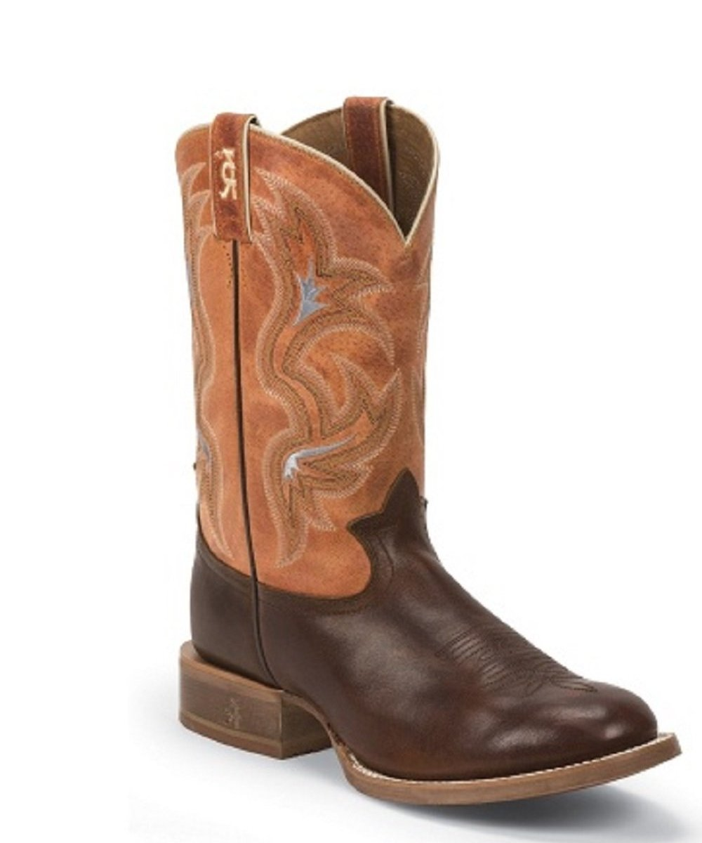 TONY LAMA MEN'S SOCORRO COGNAC BOOT- STYLE #3R1132