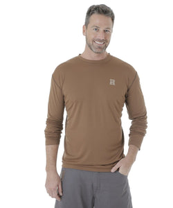 Wrangler Men's Riggs Workwear Long Sleeve Tee- Style #3W745BR