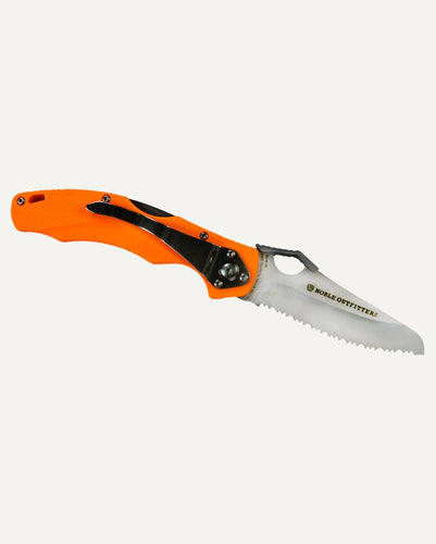 NOBLE OUTFITTERS ARENA KNIFE- STYLE #40013 - ORANGE